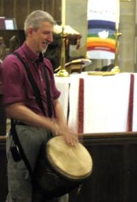 Bob Laake Drumming